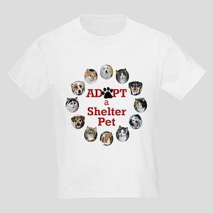 Adopt a Shelter Pet Kids Light T-Shirt