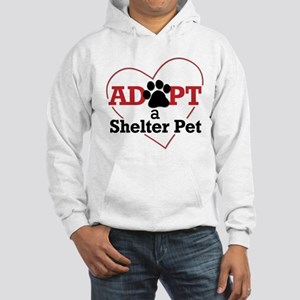 Adopt a Shelter Pet Hooded Sweatshirt