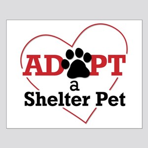 Adopt a Shelter Pet Small Poster
