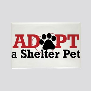 Adopt a Shelter Pet Rectangle Magnet