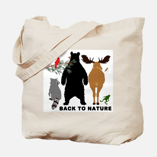 Back To Nature Tote Bag