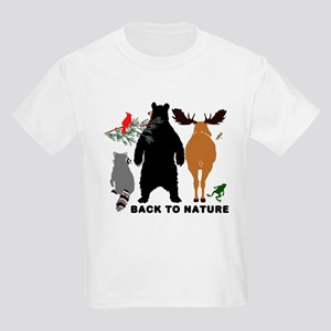 Back To Nature Kids Light T-Shirt