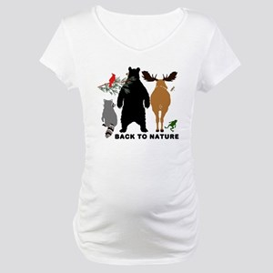 Back To Nature Maternity T-Shirt