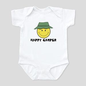 Happy Camper camping Infant Bodysuit
