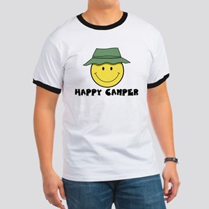 Happy Camper camping Ringer T