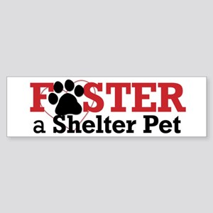 Foster a Pet Bumper Sticker