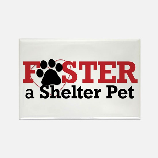 Foster a Pet Rectangle Magnet