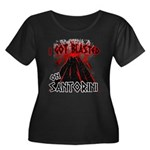 Women's Plus Size Black Tee