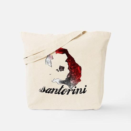 Cute Santorini Tote Bag
