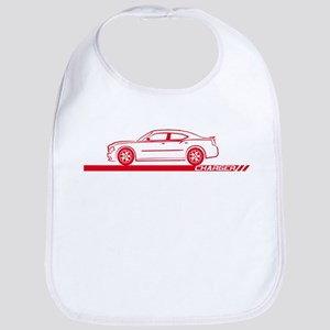 2005-10 Charger Red Car Bib