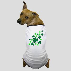 Shamrocks Dog T-Shirt