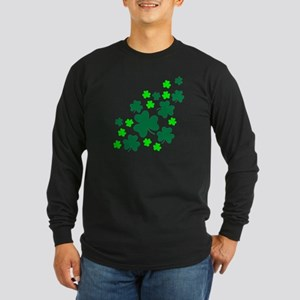 Shamrocks Long Sleeve Dark T-Shirt