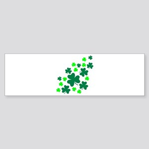 Shamrocks Bumper Sticker