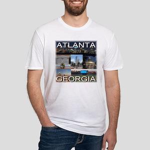 Atlanta, Georgia Fitted T-Shirt