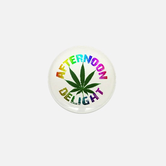 Afternoon Delight Mini Button
