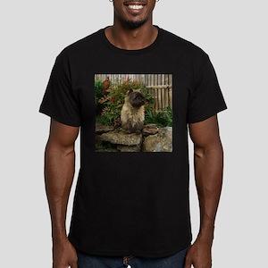 Cairn Terrier Men's Fitted T-Shirt (dark)