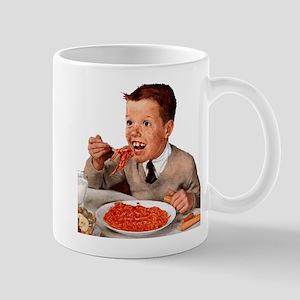 Creepy Ginger Kid Mug