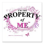Property of Me Square Car Magnet 3