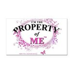 Property of Me Rectangle Car Magnet