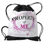 Property of Me Drawstring Bag
