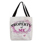 Property of Me Polyester Tote Bag