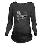 'Property of Me' design: Wht Ltr. T-Shirt
