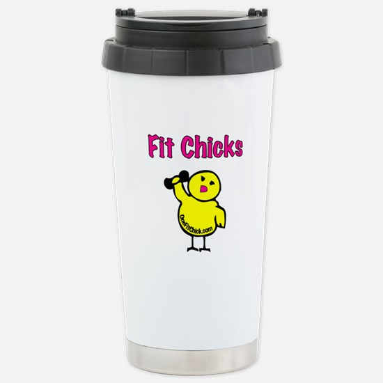 Fit Chicks Stainless Steel Travel Mug