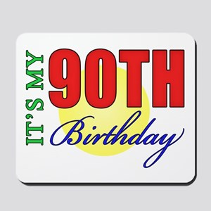 90th Birthday Party Mousepad