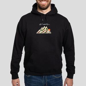 Need Mountains Hoodie (dark)