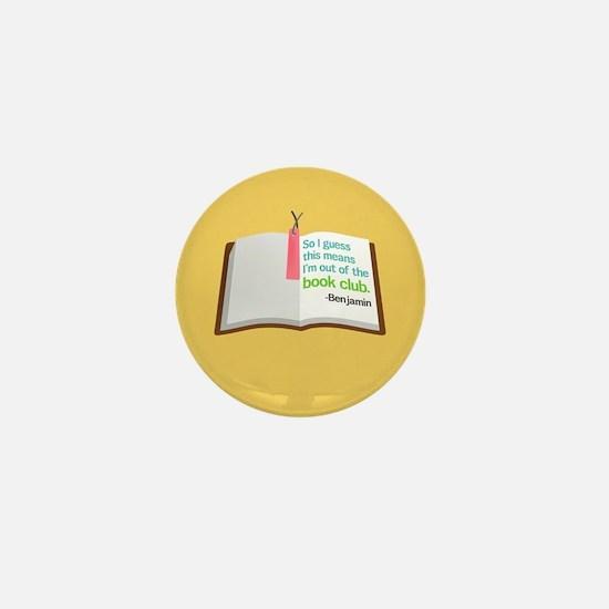 Lost Book Club Mini Button