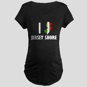 Jersey Shore Maternity Dark T-Shirt