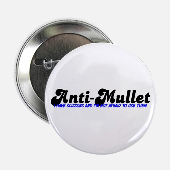 Mullet Scissors Button