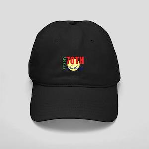 70th Birthday Party Black Cap