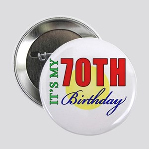 """70th Birthday Party 2.25"""" Button"""
