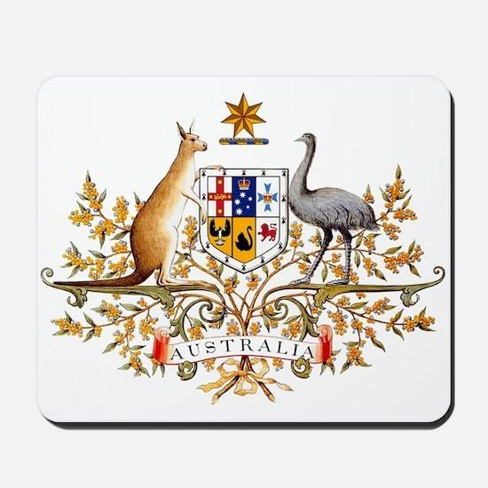 Australia Coat of Arms Mousepad