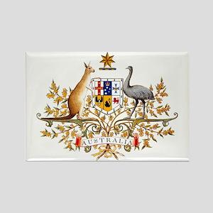 Australia Coat of Arms Rectangle Magnet