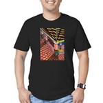 Santa Ana Train Train Station Men's Fitted T-Shirt