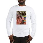 Santa Ana Train Train Station Long Sleeve T-Shirt