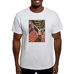 Santa Ana Train Train Station Light T-Shirt