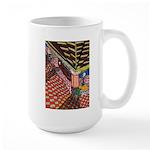 Santa Ana Train Train Station Large Mug