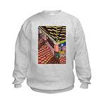 Santa Ana Train Train Station Kids Sweatshirt
