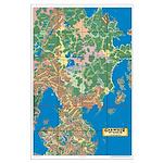Garweeze Wurld Topographical Map