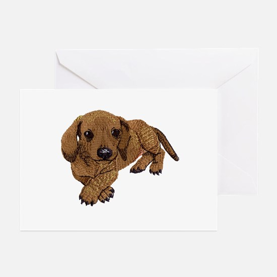 Embroidered Look Greeting Cards (Pk of 20)
