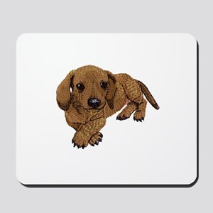 Embroidered Look Mousepad