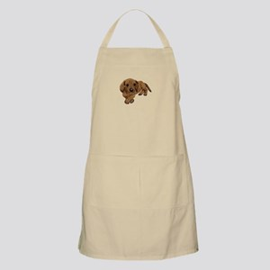 Embroidered Look Apron