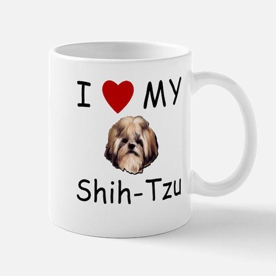I Heart My Shih-Tzu Lost Humor Mug