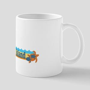 Hilton Head Island SC - Beach Design Mug