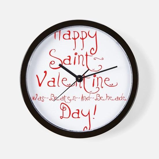 Cute Anti valentine Wall Clock