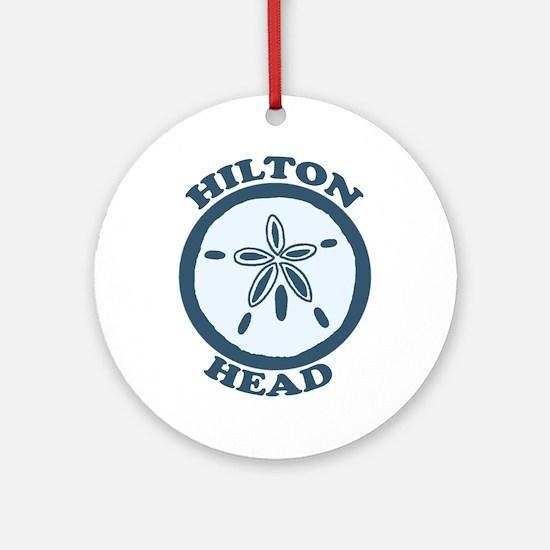 Hilton Head Island SC - Sand Dollar Design Ornamen