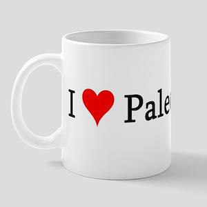 I Love Paleontology Mug